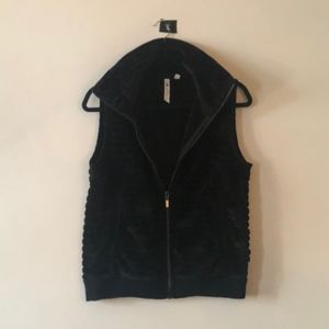 Cable & Gauge / NWOT Black Turtleneck Vest